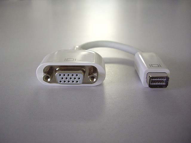 Mini DVI-VGA アダプタ