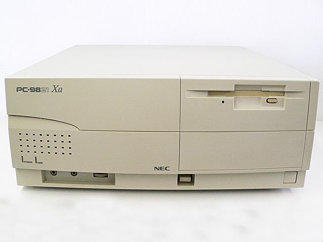 98デスクトップ販売 PC-9821Xa/u1 NEC