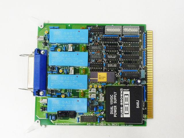 制御ボード販売 ADI12-4(98)H CONTEC