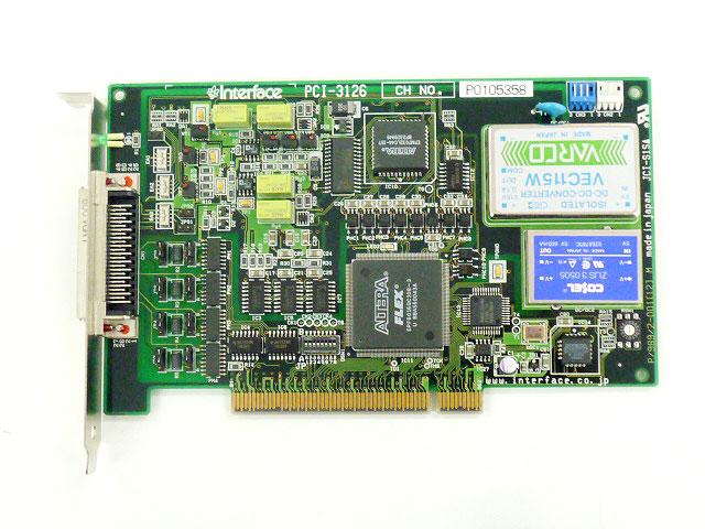 制御ボード販売 PCI-3126 Interface