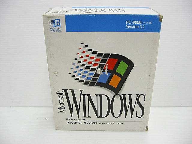 中古 Microsoft Windows3.1 PC-9800シリーズ対応