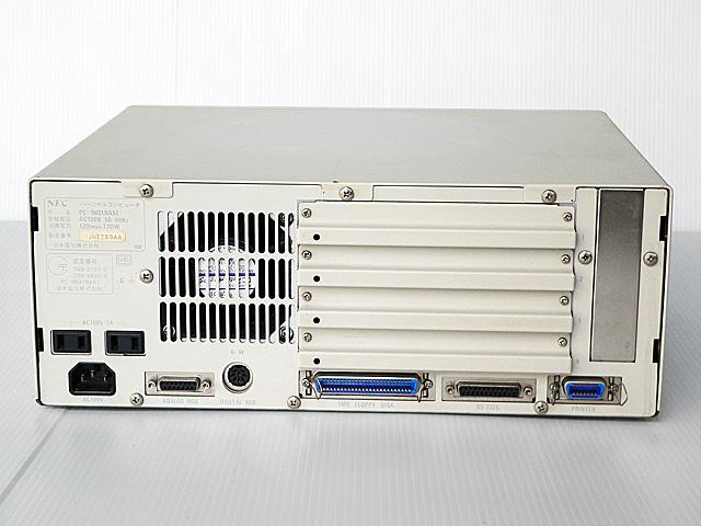 98デスクトップ販売 PC-9801RA21 NEC