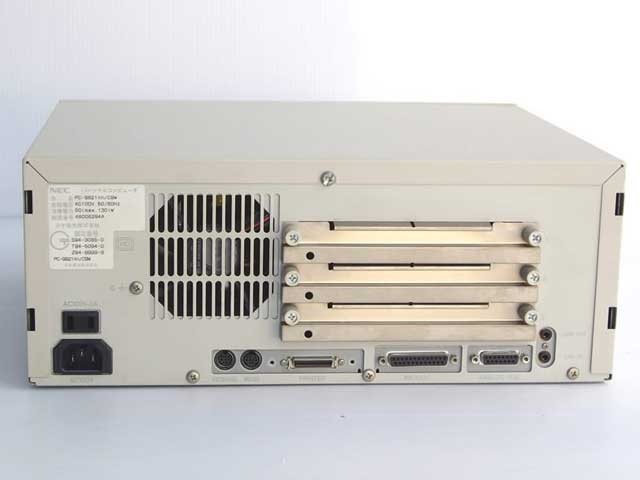 98デスクトップ販売 PC-9821Xn/C9W NEC