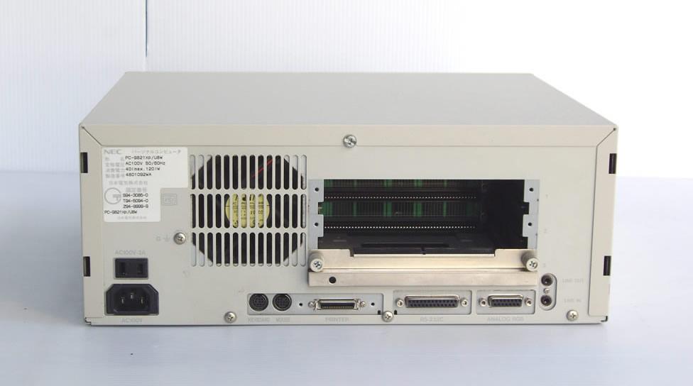 98デスクトップ販売 PC-9821Xp/C8W NEC