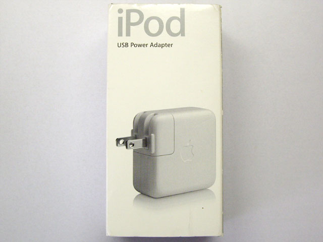 中古iPodアクセサリ販売 iPod USB Power Adapter Apple