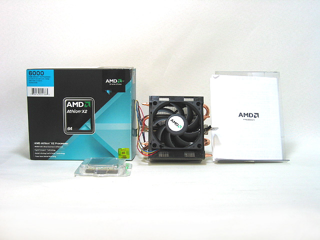 中古CPU販売 Athlon64 X2 6000+ 89W (Brisbane) AMD