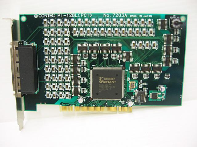 制御ボード販売 PI-128L(PCI) CONTEC