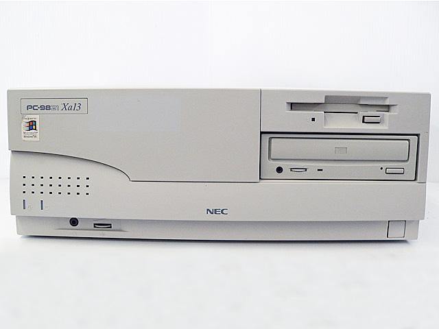 98デスクトップ販売 PC-9821Xa13/W12 NEC