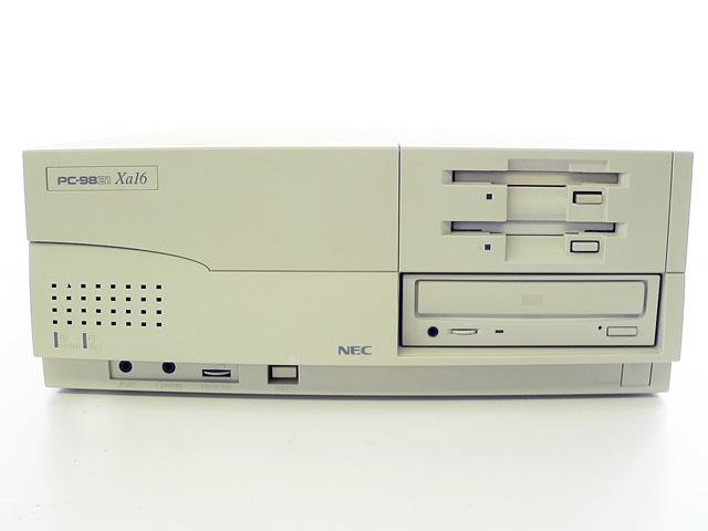 98デスクトップ販売 PC-9821Xa16/R12 NEC