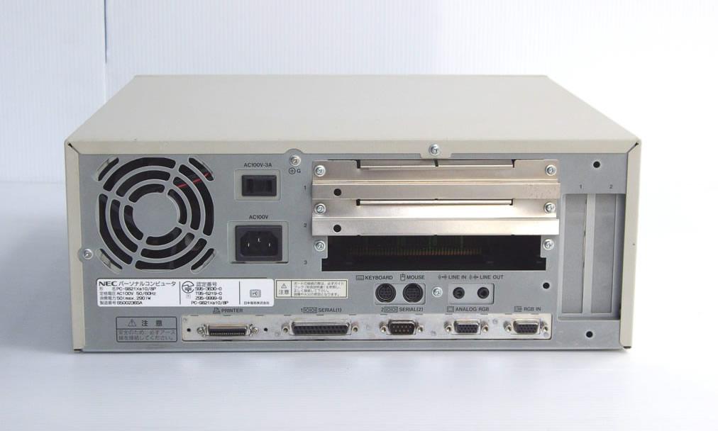 98デスクトップ販売 PC-9821Xa10/K8 NEC