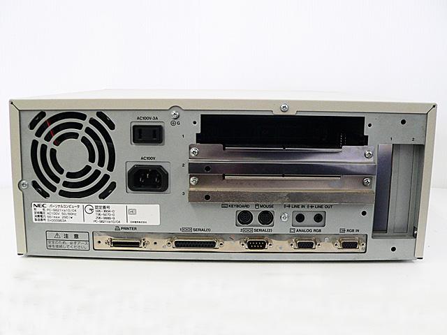 98デスクトップ販売 PC-9821Xa10/C12 NEC