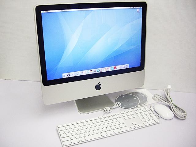 iMac intel 2.4GHz 20インチ Silver(2007/08)