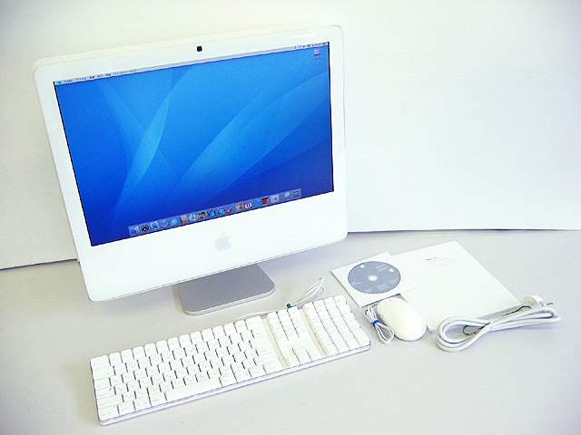 iMac intel White 2.0GHz 20インチ