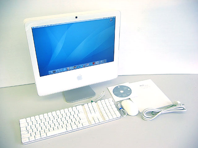 iMac intel White 2.0GHz 17インチ