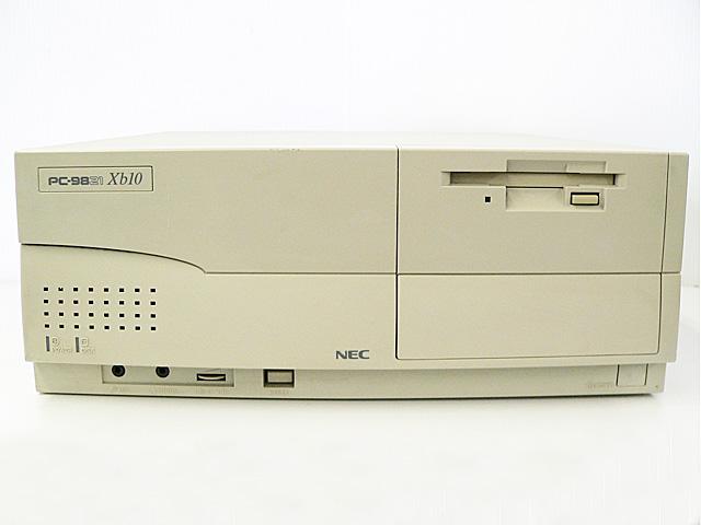 98デスクトップ販売 PC-9821Xb10/J8 NEC