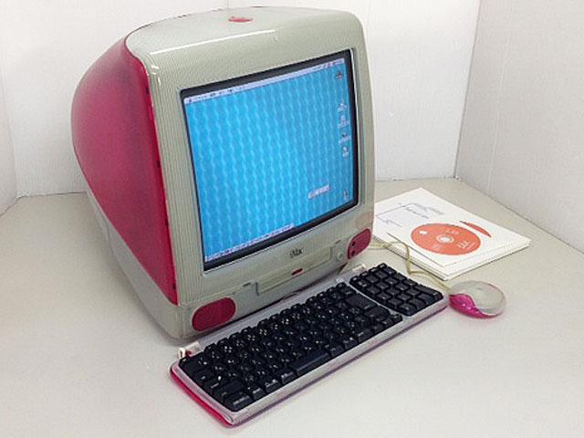 iMac G3 ストロベリー (トレー型)
