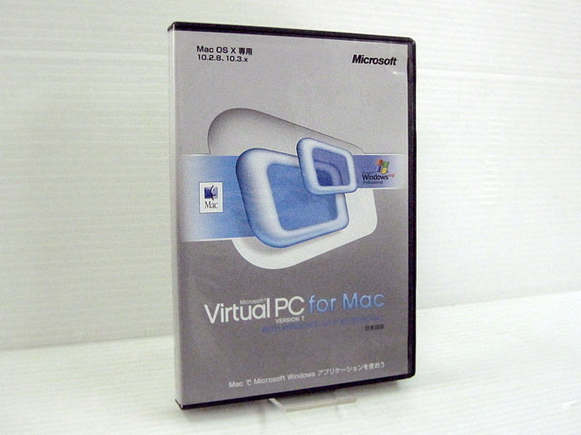 Virtual PC for Mac Version7 with Windows XP Professional
