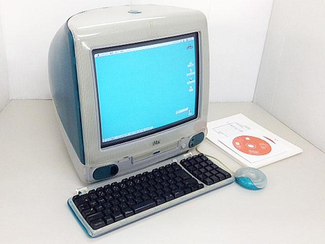 iMac G3 ボンダイブルー (トレー型)
