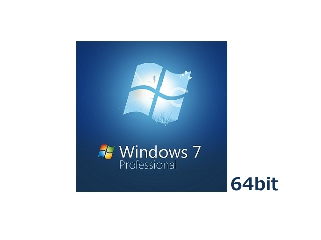 Windows 7 Professional 64bit DSP