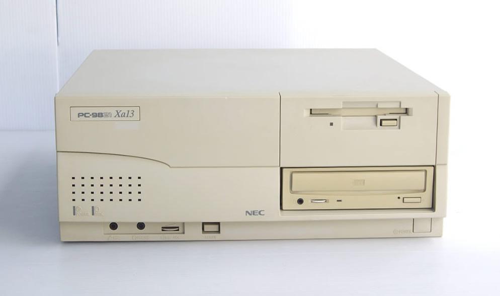 98デスクトップ販売 PC-9821Xa13/K12 NEC