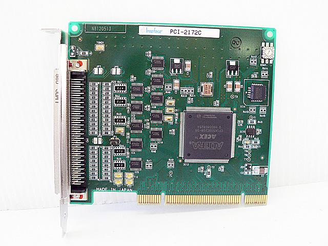 制御ボード販売 PCI-2172C Interface