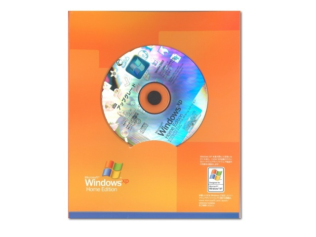 中古 Microsoft Windows XP Home Edition アップグレード