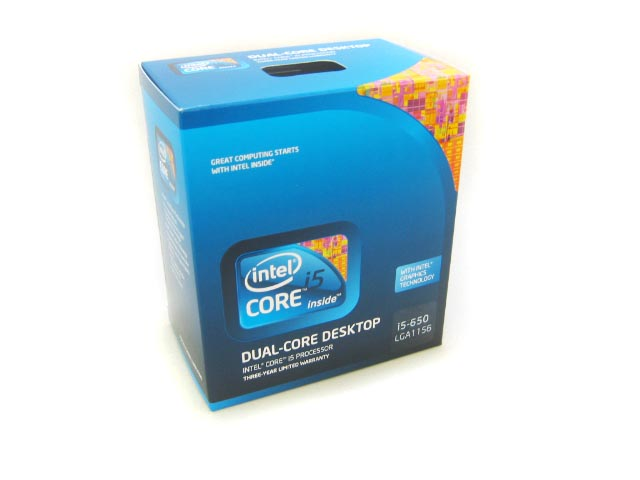CPU Core i5 650