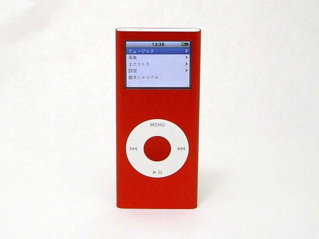 iPod nano 4GB レッド 第2世代 MA725J/A