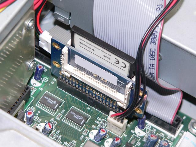 98パーツ販売 PC-98デスク用  CFカード型ハードディスク 128MB オリジナル