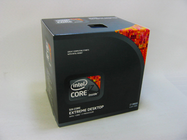 CPU Core i7 980X Extreme Edition