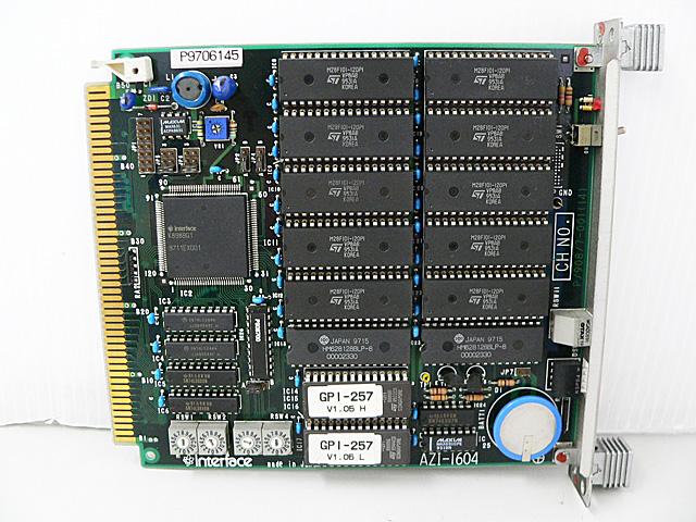 制御ボード販売 AZI-1604 Interface
