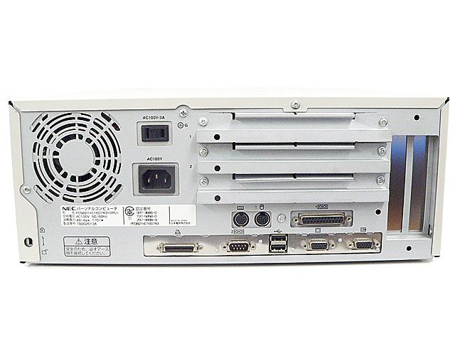 98デスクトップ販売 PC-9821Xc16/S7 NEC