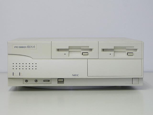 98デスクトップ販売 PC-9801BX4/U2 NEC