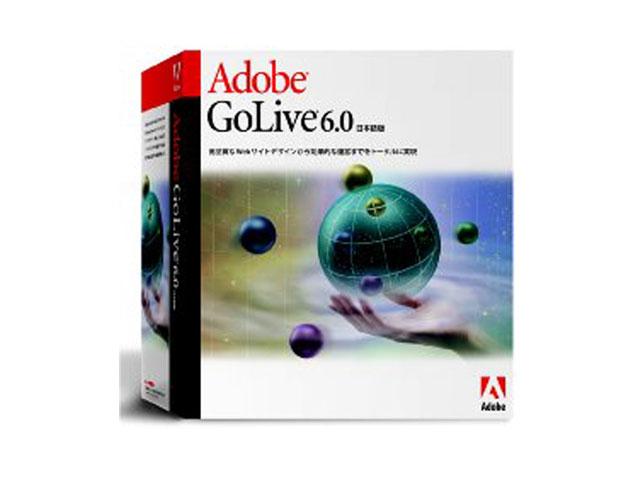 GoLive 6.0 Macintosh版