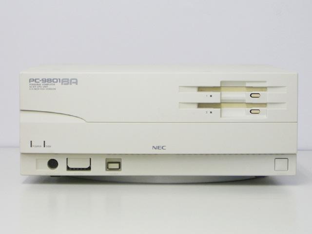 98デスクトップ販売 PC-9801BA/U2 NEC
