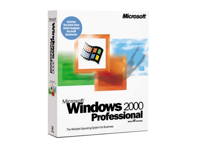 Windows 2000 Professional 英語版