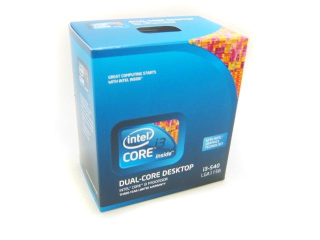 CPU Core i3 550