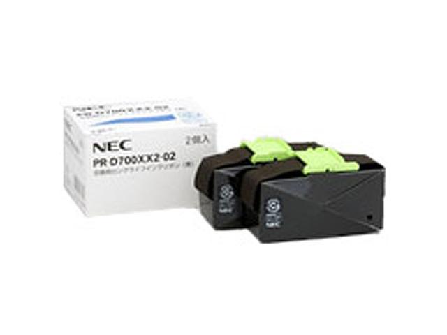 PR-D700XX2-02 同等品 (交換用インクリボン 2個セット)