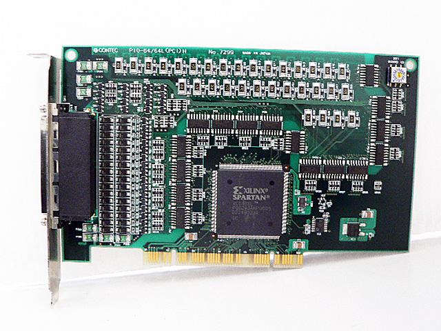 制御ボード販売 PIO-64/64L(PCI)H CONTEC