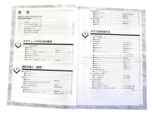 ワープロ周辺販売 LX-3100C/LX-3100/LX-2100 説明書 機能別操作説明書2 富士通
