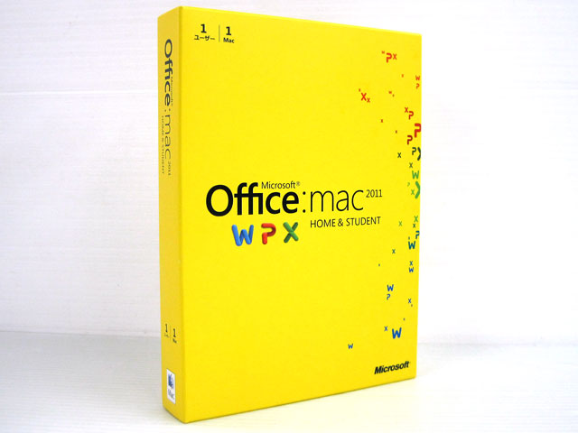 Office Mac 2011 Home and Student 1PAK 日本語版
