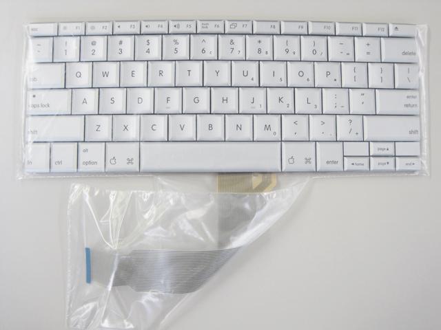 PowerBook G4 Al 15'用USキーボード(バックライト無し)