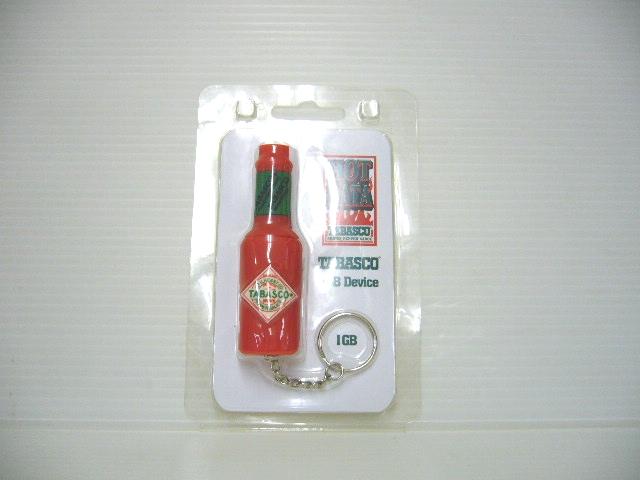 タバスコ型 USBメモリ