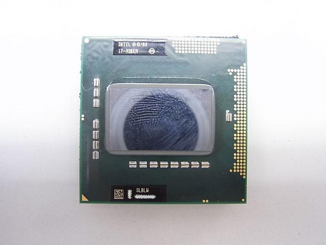 CPU Core i7 920XM