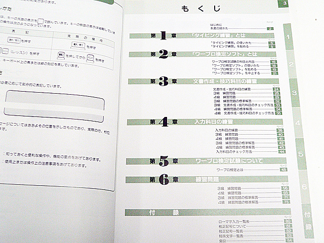 ワープロ周辺販売 JW01 説明書 ワープロ検定ガイド TOSHIBA