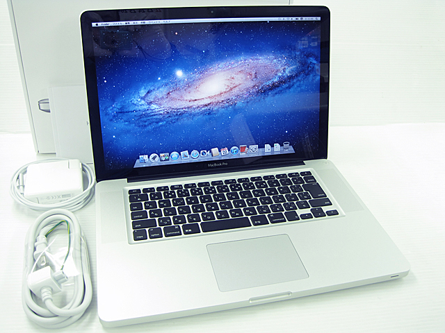 MacBook Pro Core i7 2.4GHz 15.4インチ