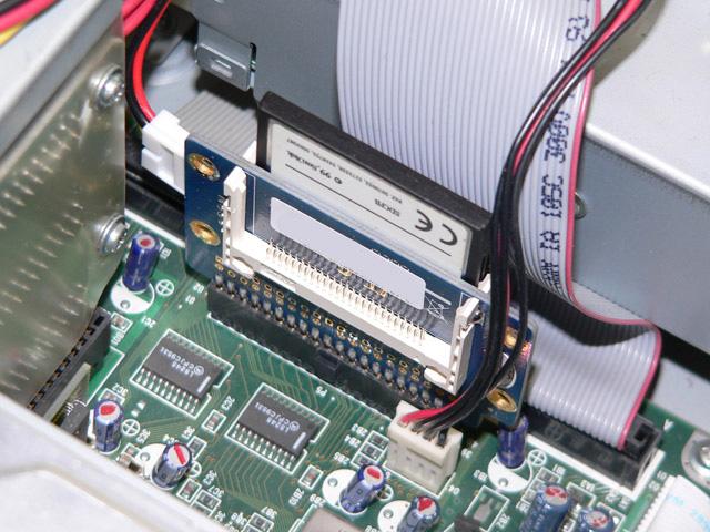 98パーツ販売 PC-98デスク用  CFカード型ハードディスク 1GB オリジナル