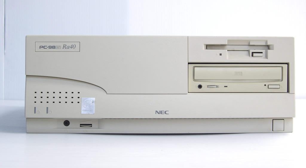 98デスクトップ販売 PC-9821Ra40 NEC