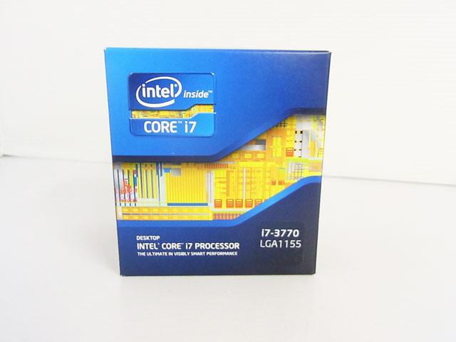 CPU Core i7 3770