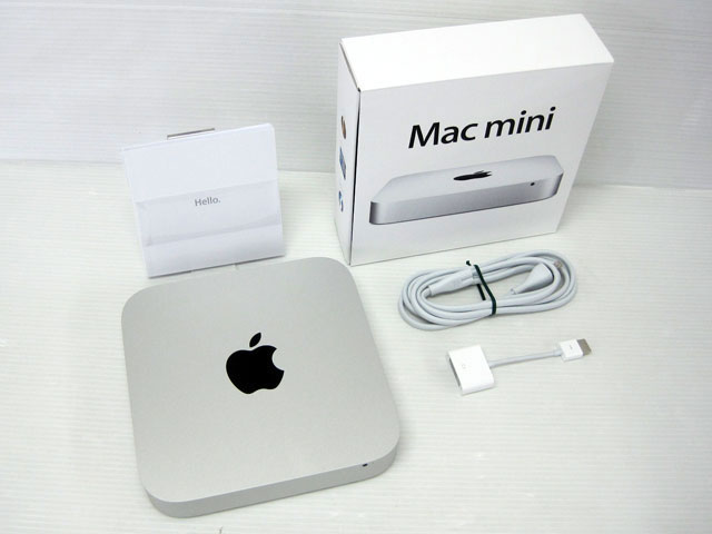 Mac mini Core i7 2.7GHz (2コア) silver